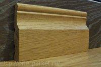 Дубовый плинтус фигурный 70*15 мм
