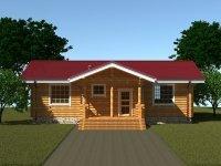 Строительство загородного дома по проекту №279