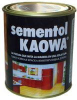 """Эмаль """"Каова"""" - Жидкое Дерево Kaowa SEMENTOL – краска, которую называют жидким деревом."""