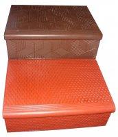 Лестничные ступени, лестничные площадки - любые конфигурации и размеры, в т.ч. крупногабаритные. Изготовление