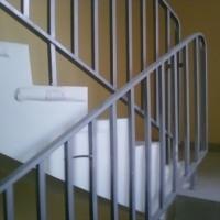 Металлические перила (стальные сварные лестничные ограждения) типа ОМ по серии 1.050.9-4.93.3