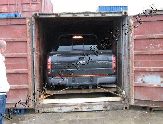 Перевозка автомобилей в контейнерах из Москвы на любую станцию РФ.