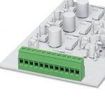 Клеммные блоки для печатного монтажа - MKDSD 2,5/ 9-5,08 - 1730573 Phoenix contact