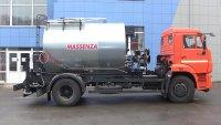 Автогудронатор MASSENZA с масляной системой подогрева