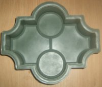 Форма для плитки тротуарной Клевер