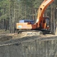 Песок сухой добычи («лесной») карьера «Муллашовский»