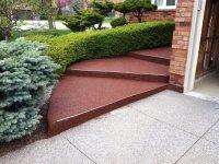 Противоскользящее покрытие для крыльца, лестницы и входа