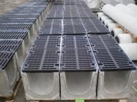 Лоток водоотводный бетонный Аквасток DN 200 H 410 1000x355x410 Е600 ВЧ-50