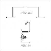 Алюминиевая навесная подсистема для вентфасада