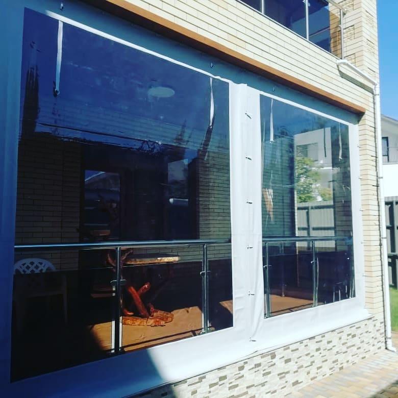Гибкие (мягкие) окна для беседок, террас и веранд из материалов ПВХ.