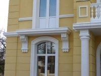 Наличник, молдинг из пенопласта, фасадный декор, элементы лепнины из пенопласта