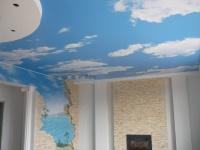 Натяжной потолок с фотопечатью арт.SP-943 серии MSD Premium.