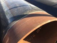 Труба 530мм продажа труб в покрытии из экструдированного полиэтилена