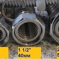 Гибкая подводка для воды из нержавеющей стали 1 1/2 дюйма