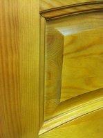 Межкомнатная дверь натуральный массив сосны 16