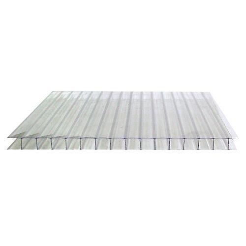 Сотовый поликарбонат 6 мм. прозрачный