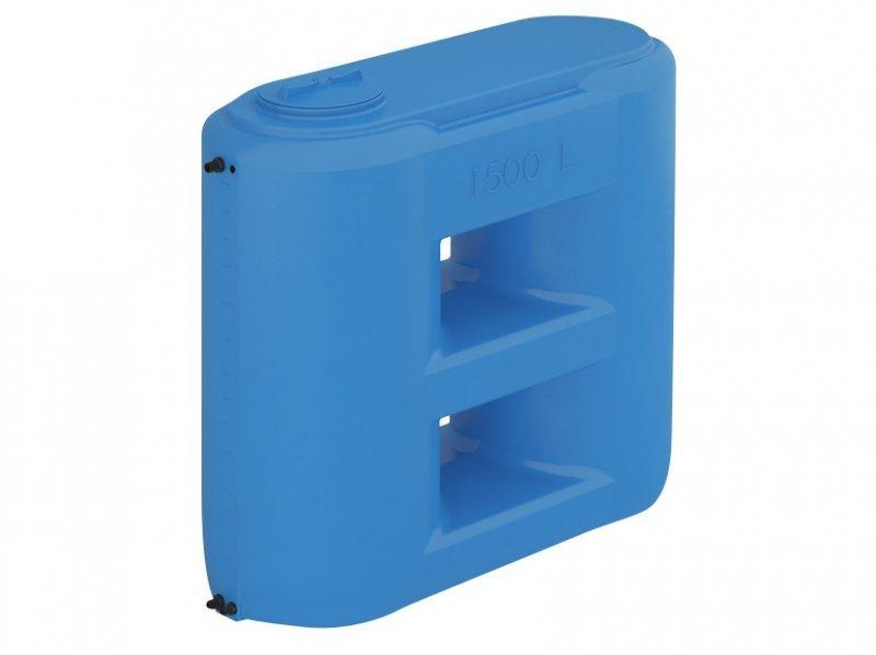Бак для воды, Combi W-2000 BW, сине-белый, с поплавком