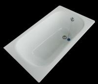 Zodiak 130х70, ванна чугунная (Испания)