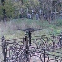 Оградка кованая, ритуальная оградка, оградка на могилу