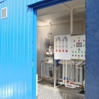 Блочно-модульные установки водоподготовки питьевой воды производительностью от 10 до 100 м3/час
