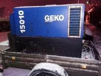 Аренда (прокат) Генератор мобильный Geko 15010 с оператором