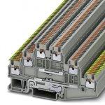 Многоярусный клеммный модуль - PT 1,5/S-PE/L/L - 3213768 Phoenix contact