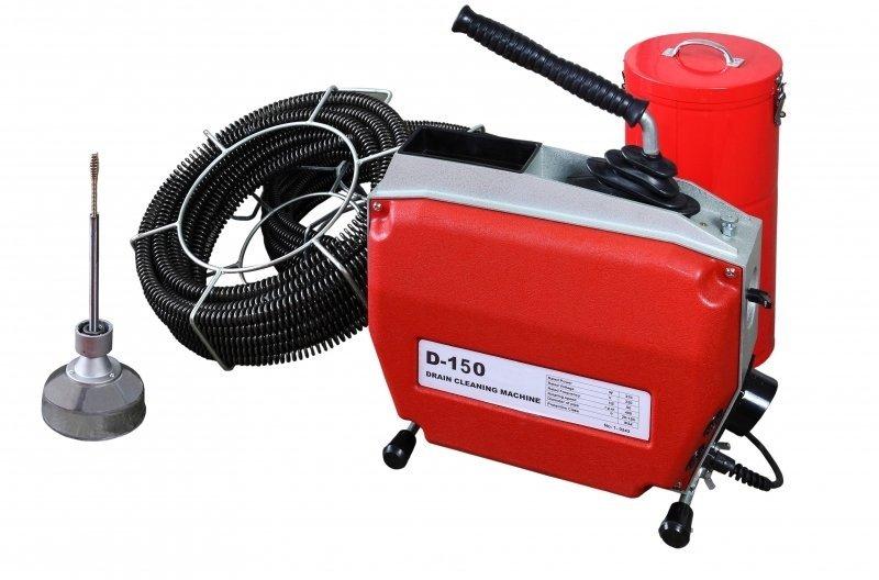 Машина для прочистки канализации D-150