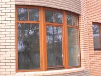 Окна из дуба, лиственницы, сосны