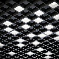 LED светильник Домино (Pelin PIX) встраиваемый в ячейку потолка Грильято (комплект)