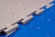 Модульная плитка из ПВХ и  резины. Животноводческая плита.