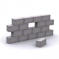 Строительные фундаментные полнотелые блоки от производителя