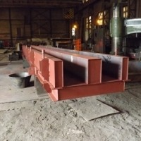 Металлоформа для изготовления колон ЖБИ