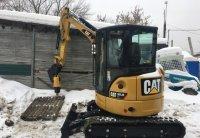 Аренда мини экскаватора Caterpillar 303.5E CR