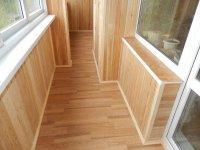 Внутренняя отделка балкона, лоджии. Красноярск