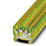 Клемма защитного провода - PTS 2,5-QUATTRO-PE - 3212011 Phoenix contact