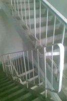 ПЕРИЛА марки ЛО 15 - лестничные ограждения железобетонных лестниц по типовой серии 1.050.9-4.93.3