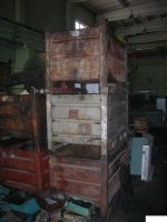 Тара, контейнеры, ящики, металлическая, деревянная, складская, б/у