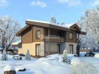 Проект дома «Суворов» 16.4 х 11.1