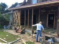 Реконструкция загородного дома. Пристройка к дому