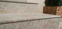 Ступени из керамогранита толщиной 20 мм для улицы 1200х300х20