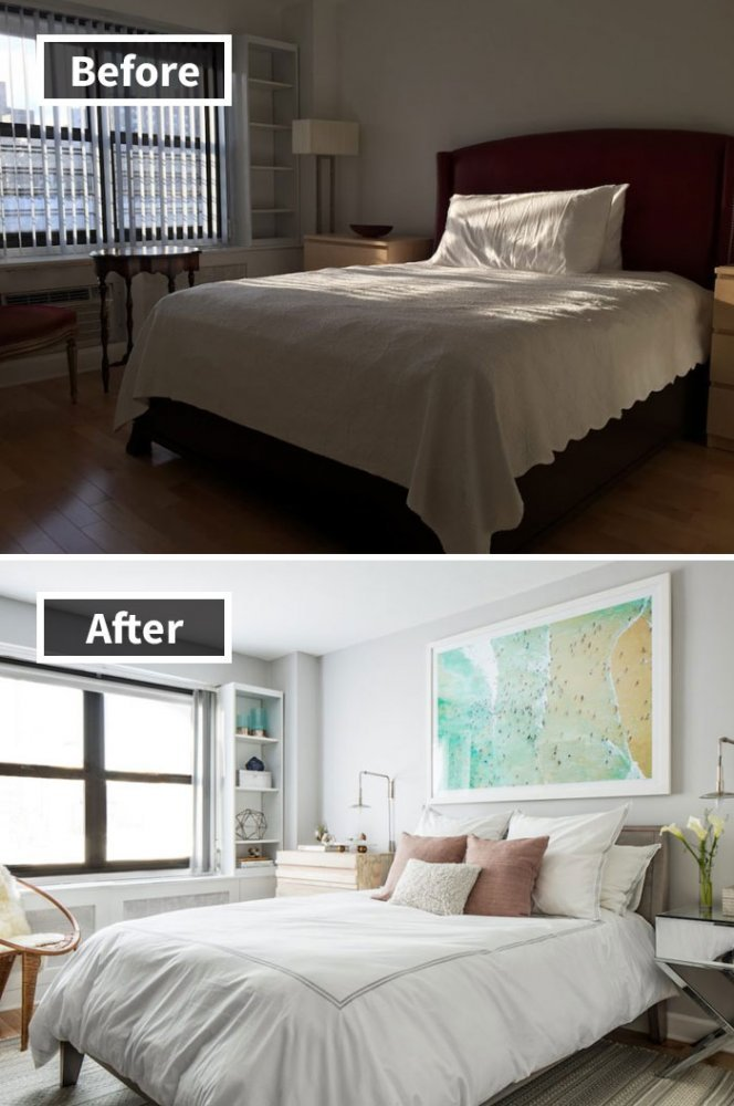 Ремонт до и после фото 23