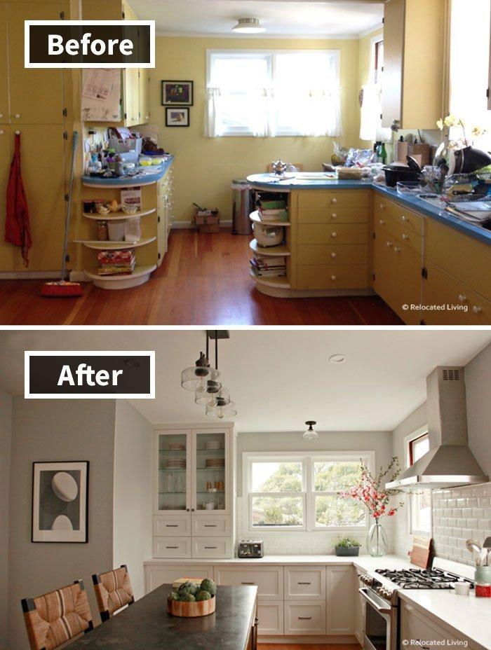 Ремонт до и после фото 33