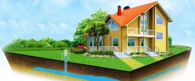 Автономное водоснабжение и водоотведение в загородном доме