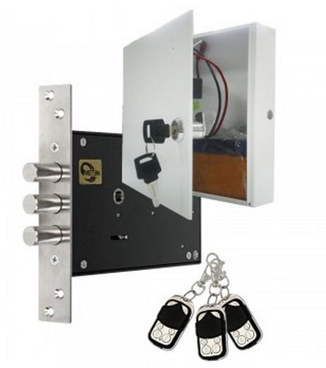 Обзор надежных замков невидимок для входных металлических дверей