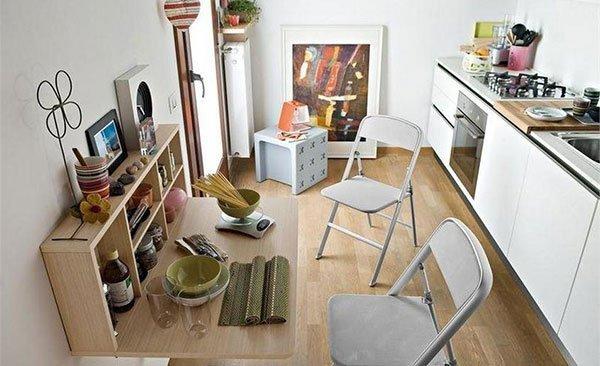 ТОП-10 идей для маленькой кухни фото 21