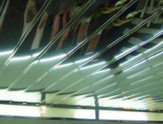 Зеркальный подвесной потолок, зеркальный потолок