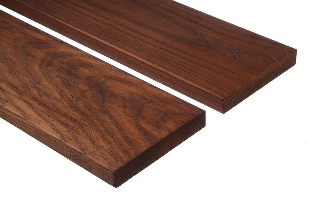 Террасная доска из обработанной древесины