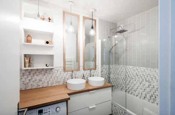Как сделать маленькую ванну визуально больше фото 2