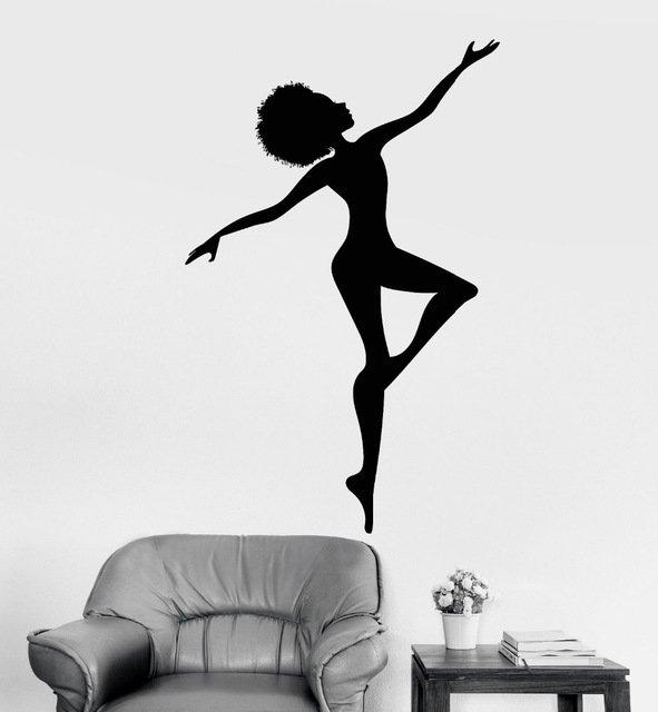 Стильный стикер Африканская танцовщицаYOYOYU ART HOME DECOR
