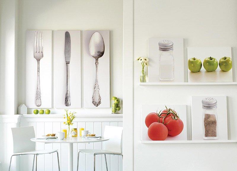 декор стен на кухне фото 4